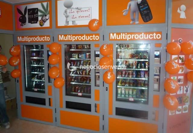 Se traspasa Vending 24 horas